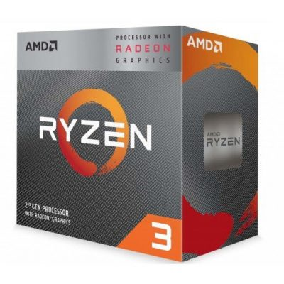 AMD YD3200C5FHBOX Ryzen 3 3200G Quad Core 3.6GHz (4.0GHz Boost) Processor-mine away