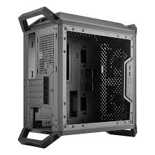 CoolerMaster MCB-Q300P-KANN-S02 Windowed Black Micro-ATX Mini-Tower Desktop Chassis-mine away