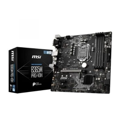 MSI B365M PRO-VDH Desktop Motherboard-mine away