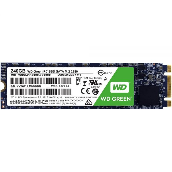 WD Green 240GB M.2 Solid State Drive